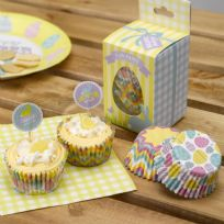 Happy Easter Cupcake Cases (100)